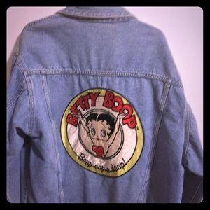 Denim Jean Vintage Betty Boop jacket